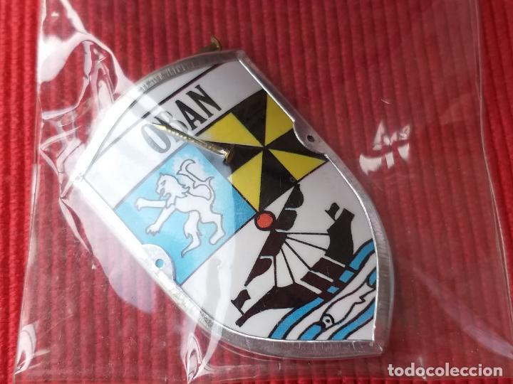 Coleccionismo: Escudo insignia DE LA CIUDAD DE OBAN. ESCOCIA. REINO UNIDO. - Foto 5 - 145218382