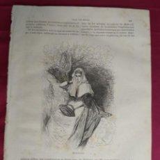 Coleccionismo: GRABADO. MALLORQUINA. VIAJE POR ESPAÑA. 1878. Lote 145268786