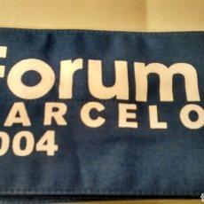 Coleccionismo: BRAZALETE FORUM BARCELONA 2004 (A2) RECUERDO DEL FORUM DE LAS CULTURAS. Lote 145441510