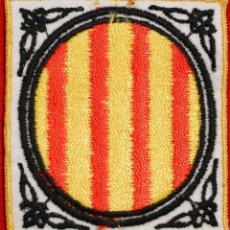 Coleccionismo: PARCHE DE TELA BORDADO ESCUDO GENERALITAT DE CATALUNYA 6,5X6CM. Lote 52574484