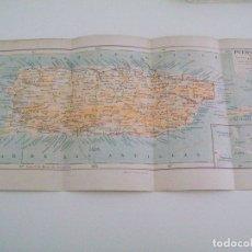 Coleccionismo: LAMINA ESPASA 3760: MAPA DE PUERTO RICO. Lote 146189613