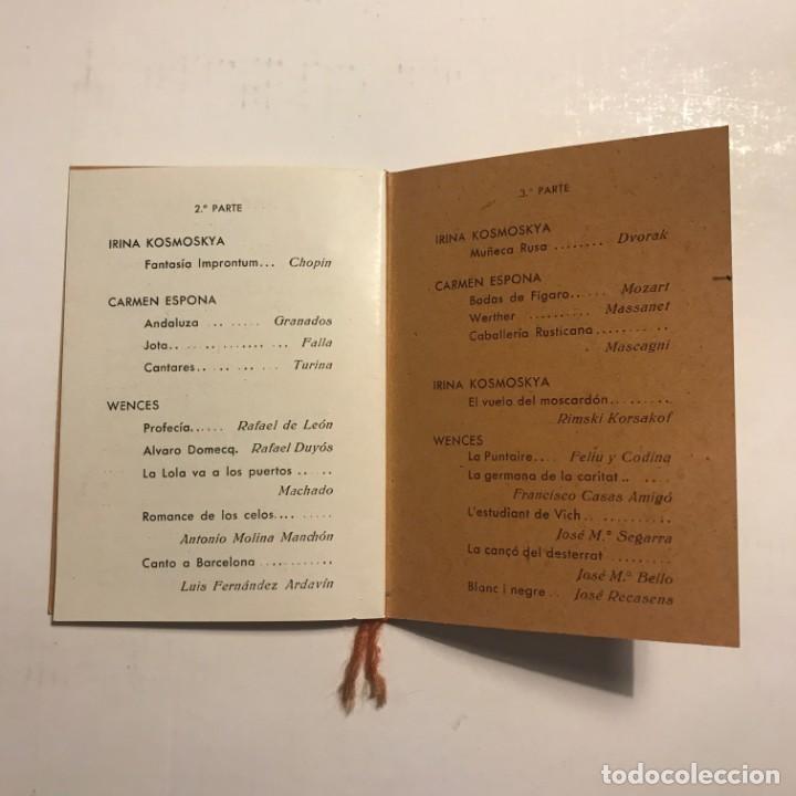 Coleccionismo: Teatro Romea. Programa de mano. Wences - Foto 4 - 146371838