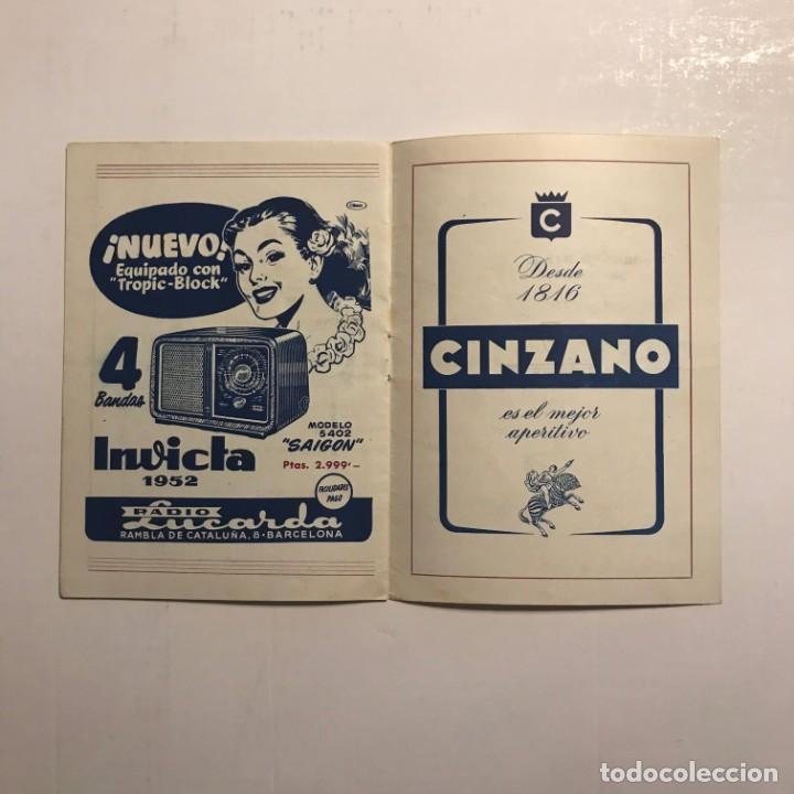 Coleccionismo: Teatro Romea. Programa de mano. Catena della fraternita, 1951 - Foto 4 - 146495522
