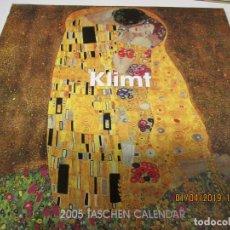 Coleccionismo: KLIMT , CALENDARIO 2005 12 LAMINAS ( UNA PARA CADA MES Y PORTADA) 30X30 CM. Lote 146579294