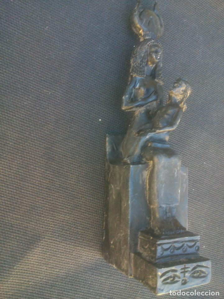 Coleccionismo: Figuras Egipcias de Resina de la Coleccion Egiptomania - Foto 6 - 146596614