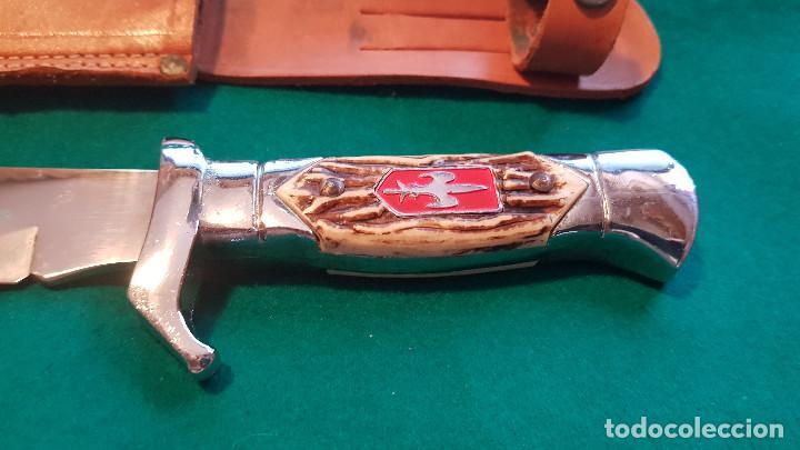 Coleccionismo: PUÑAL MILITAR CON FUNDA - Foto 2 - 146674766