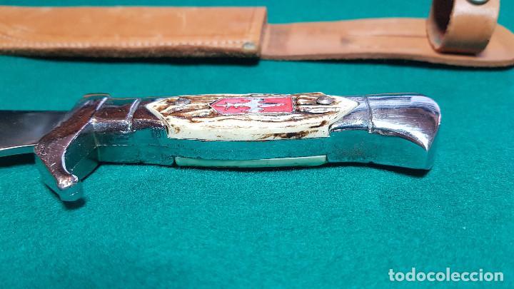 Coleccionismo: PUÑAL MILITAR CON FUNDA - Foto 11 - 146674766