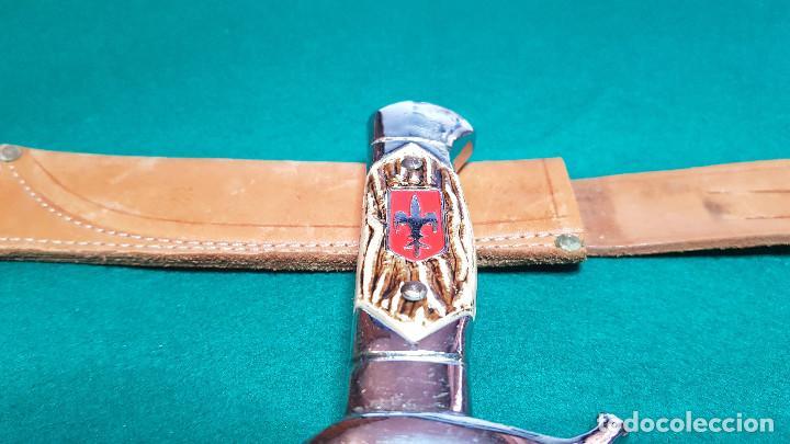 Coleccionismo: PUÑAL MILITAR CON FUNDA - Foto 12 - 146674766