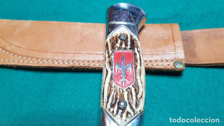 Coleccionismo: PUÑAL MILITAR CON FUNDA - Foto 13 - 146674766