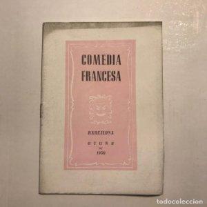 Teatro Romea. Comedia francesa. 1950