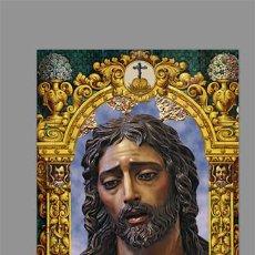 Coleccionismo: AZULEJO 40X25 DE NUESTRO PADRE JESÚS DE LA SOLEDAD DE MÁLAGA. Lote 146746558