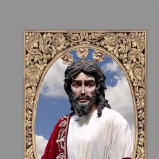 Coleccionismo: AZULEJO 40X25 DEL SANTÍSIMO CRISTO DE LA CLEMENCIA EN LA TRAICIÓN DE JUDAS DE JEREZ DE LA FRONTERA. Lote 146913270
