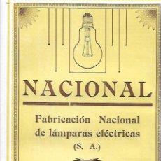 Coleccionismo: AÑO 1927 PUBLICIDAD NACIONAL FABRICACION DE LAMPARAS ELECTRICAS BOMBILLAS ENTENZA BARCELONA. Lote 146915974