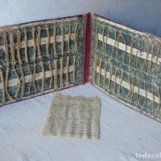 Coleccionismo: HILOS DE MAR CORDERIA MUY DIFICIL CARTA DE MUESTRAS TRENZADO CON LISTA PRECIO PESCA ?. Lote 146958278