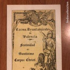 Sammelleidenschaft Papier - Corpus Christi valencia 1949 - 147029413