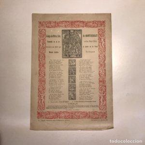 1924 goigs Nostra Sra de Montserrat