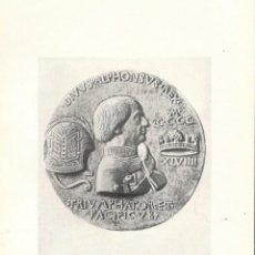 Coleccionismo: ALFONSO V DE ARAGON. 1416-1458.. Lote 147189126