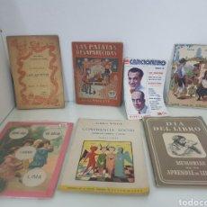 Coleccionismo: LOTE DE 7 LIBRETOS ANTIGUOS. Lote 147448216