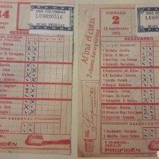 Coleccionismo: QUINIELA LUGO 1965. Lote 147568194