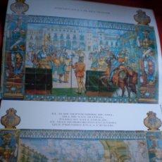 Coleccionismo: VALLADOLID PALACIO PIMENTEL DIPUTACIÓN 12 LAMINAS DE AZULEJOS DE LA CIUDAD. Lote 147617882