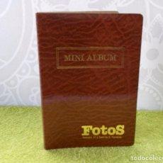 Coleccionismo: MINI ALBUM FOTOS-VINTAGE-AÑOS 70. Lote 147884494