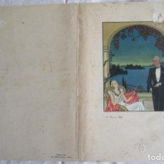 Coleccionismo: CARTA DEL RESTAURANTE ORAZIO, ITALIA, DEL AÑO 1935. Lote 147905698