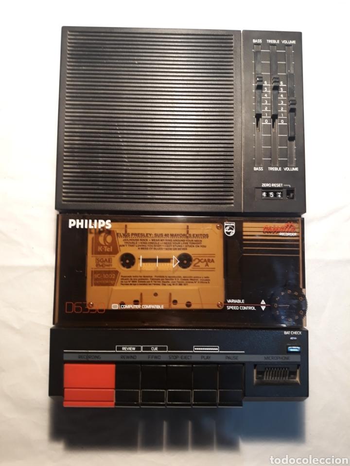 GRABADORA PHILIPS D6350,FUNCIONANDO. (Coleccionismo - Varios)