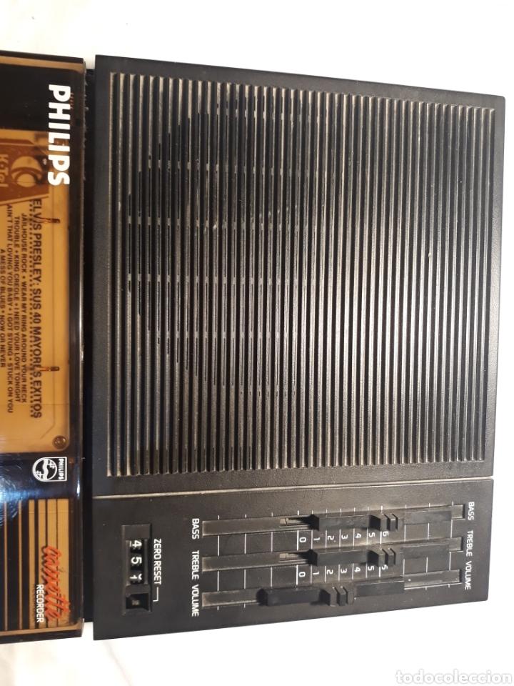 Coleccionismo: Grabadora philips D6350,funcionando. - Foto 2 - 147998538
