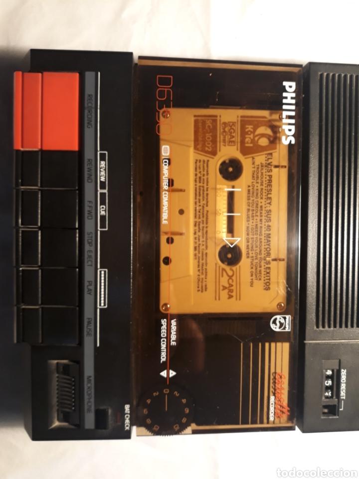 Coleccionismo: Grabadora philips D6350,funcionando. - Foto 3 - 147998538