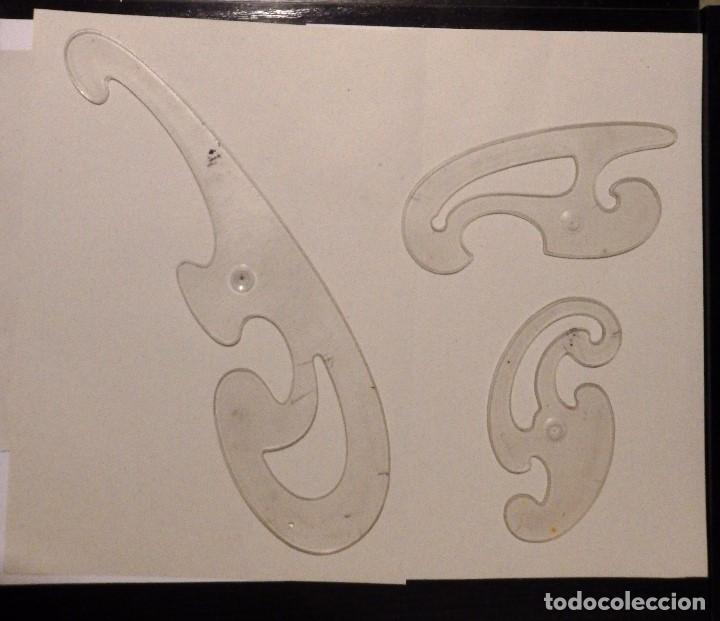 Coleccionismo: Plantilla de circulos Faber Castell - Foto 3 - 148222178