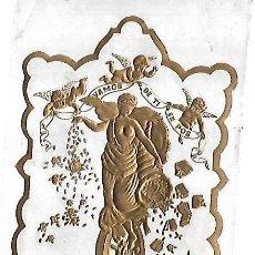 Coleccionismo: HABILITACION DE TABACO. VAMOS DE TI EN POS. CALLE AMARGURA. HABANA. 9 X 14CM. Lote 148291650