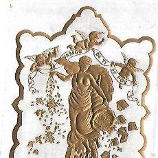 Coleccionismo: HABILITACION DE TABACO. VAMOS DE TI EN POS. CALLE AMARGURA. HABANA. 9 X 14CM. Lote 148291878