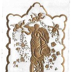 Coleccionismo: HABILITACION DE TABACO. VAMOS DE TI EN POS. CALLE AMARGURA. HABANA. 9 X 14CM. Lote 148292234