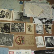 Coleccionismo: CARTAS FOTOS Y POSTALES LOTE FAMILIA PAYÁ RICO ALICANTE FABRICANTE JUGUETES CARTA DIBUJO. Lote 50812491