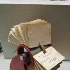 Coleccionismo: TARJETERO VINTAGE. Lote 148652944