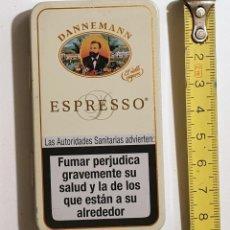 Collezionismo: CAJITA METALICA ESPRESSO. DANNEMANN - TIPO PITILLERA - EXCELENTE ESTADO. Lote 148725050