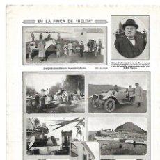 Coleccionismo: AÑO 1913 RECORTE PRENSA FINCA DE BELDA RECOLECCION ACEITUNA MARTOS ANTONIO DE LA TORRE. Lote 148992178