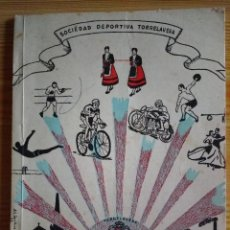 Coleccionismo: SOCIEDAD DEPORTIVA TORRELAVEGA-GUIA DEPORTIVA Y PROGRAMA OFICIAL DE FESTEJOS AGOSTO 1967. Lote 149218602