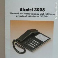 Coleccionismo: MANUAL ALCATEL 3008 VENTURER 3008. Lote 149593478
