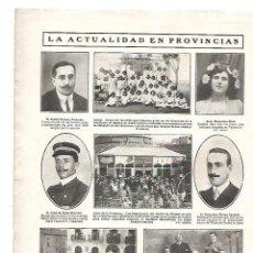 Coleccionismo: AÑO 1909 RECORTE PRENSA VALL DE UXO D'UIXO VALENCIA INAUGURACION DILIGENCIAS AUTOMOVIL CASTELLON. Lote 149699994
