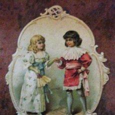 Coleccionismo: PROGRAMA TROQUELADO CASINO ANDRESENSE FIESTA MAYOR SANT ANDREU SAN ANDRES DE PALOMAR 1898 12/8CM. Lote 149821762