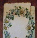 Coleccionismo: ANTIGUO PROGRAMA TROQUELADO CASINO ANDRESENSE SANT ANDREU SAN ANDRES DE PALOMAR AÑO 1902 . DIPTICO. Lote 149822022