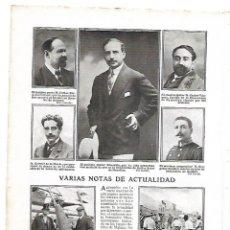Coleccionismo: AÑO 1910 RECORTE PRENSA LOS ALCAZARES CARTAGENA MARINEROS GUISANDO ARROZ BANQUETE GARCIA VASO. Lote 150083410