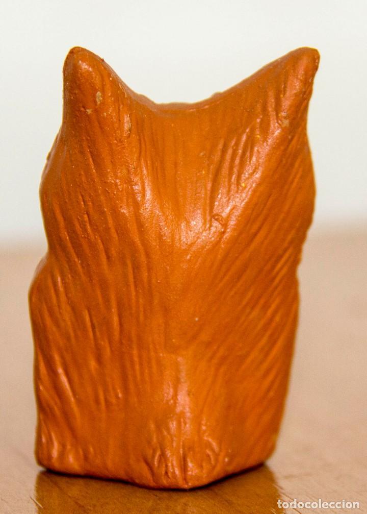 Coleccionismo: BÚHO de colección - Pequeña figura de terracota - Foto 2 - 150303418