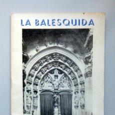 Coleccionismo: CATÁLOGO FIESTA // LA BALESQUIDA // OVIEDO // MAYO 1972. Lote 150478978