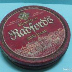 Coleccionismo: CAJA METÁLICA RADFORD'S BLEND Nº 55 WILD HONEY. PIPE TOBACCO. CONTIENE RESTOS DE TABACO DE PIPA.. Lote 151334406