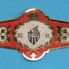 Coleccionismo: VITOLA FÚTBOL DEL REUS DEPORTIVO DEL TEMPORADA 1980 1981. Lote 151581794