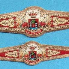 Coleccionismo: DOS VITOLAS DE COMERCIALES DE CASA COSSIO . Lote 151582230