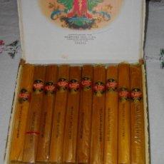 Coleccionismo: CAJA DE PUROS HABANOS LOS STATOS 10 SELECTOS ( COMPLETA 10 PIEZAS ) REBISADA BUEN ESTADO. Lote 151635042