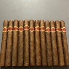 Coleccionismo: 12 PUROS DUNHILL MOJITO HABANA CUBA HAVANA 1980S CAJA. Lote 151646662